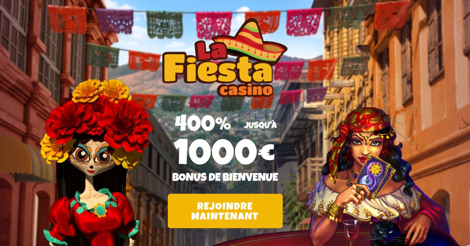 Casino La Fiesta avis : un avis objectif sur ce casino en ligne